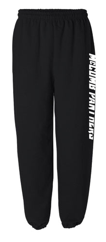 McComb Panthers Cotton Sweatpants - Black