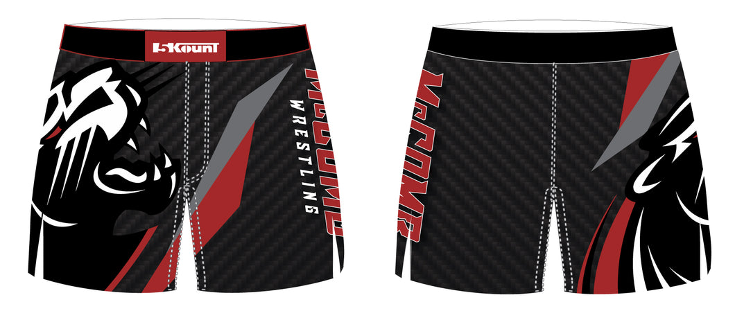 McComb Wrestling Sublimated Board Shorts - 5KounT