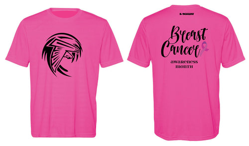 Jensen Beach Falcons Football Men's DryFit Performance Tee -  Sport Charity Pink