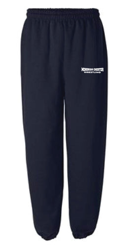 Mendham Chester Wrestling Cotton Sweatpants - Navy