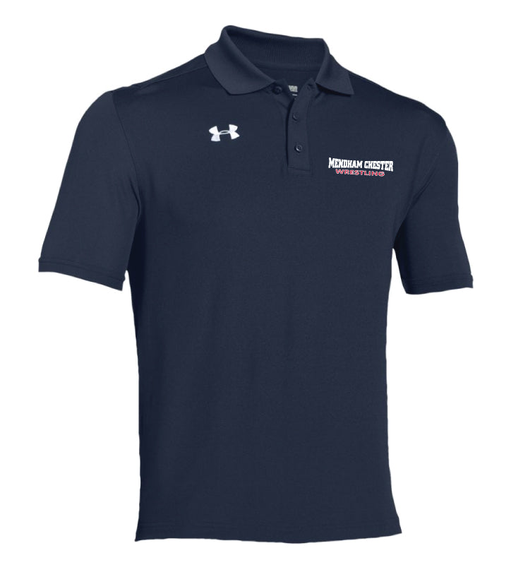 Mendham Chester Wrestling Polo Under Armour  - Navy