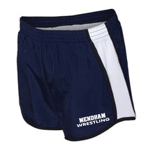 Mendham Chester Wrestling Ladies Running Shorts - Navy