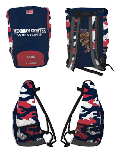 Mendham Chester Wrestling Sublimated Backpack