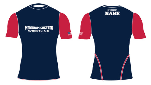 Mendham Chester Wrestling Sublimated Compression Shirt