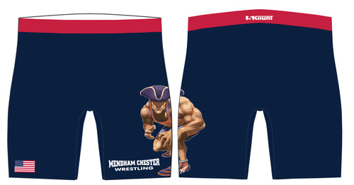 Mendham Chester Wrestling Compression Shorts