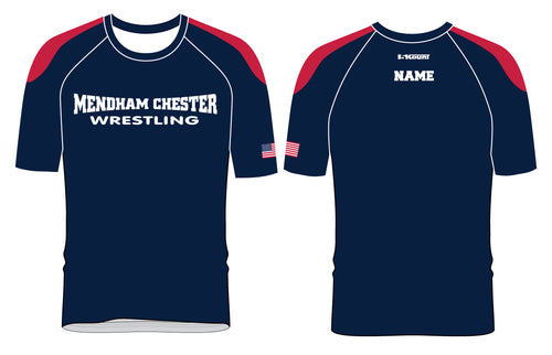 Mendham Chester Wrestling Sublimated Fight Shirt