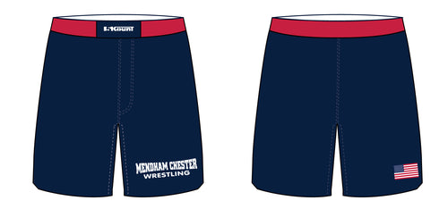 Mendham Chester Wrestling Sublimated Fight Shorts