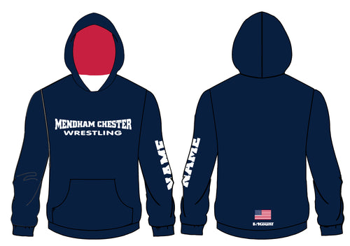 Mendham Chester Wrestling Sublimated Hoodie