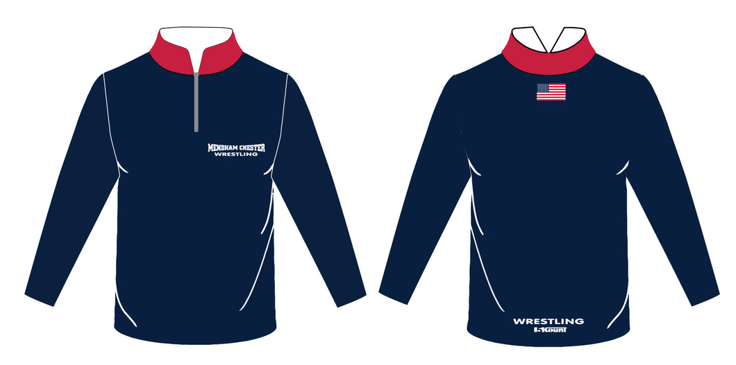 Mendham Chester Wrestling Sublimated Quarter Zip