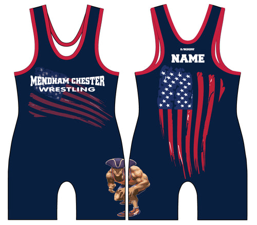Mendham Chester Wrestling Sublimated Singlet