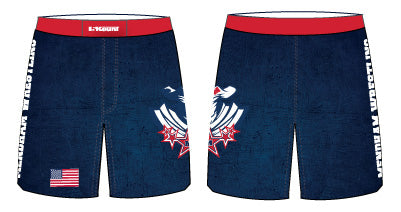 Mendham Sublimated Fight Shorts - 5KounT2018