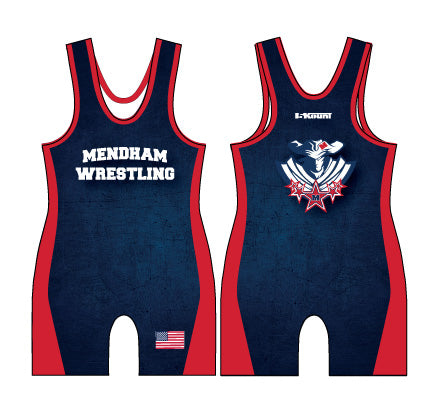 Mendham Sublimated Singlet - 5KounT2018