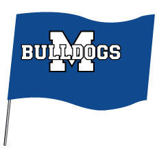 Metuchen HS Sublimated Flag