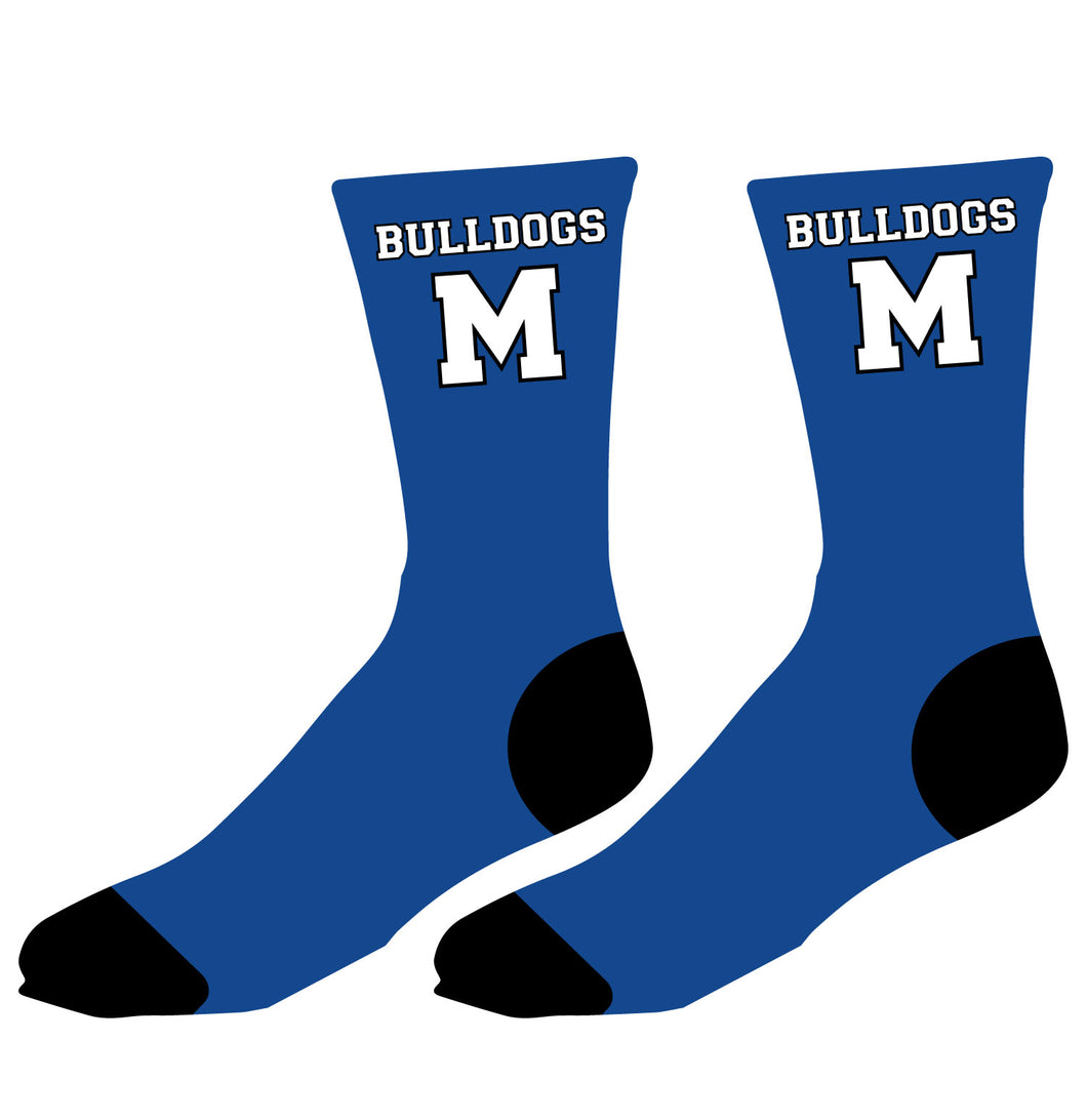 Metuchen HS Sublimated Socks - 5KounT2018
