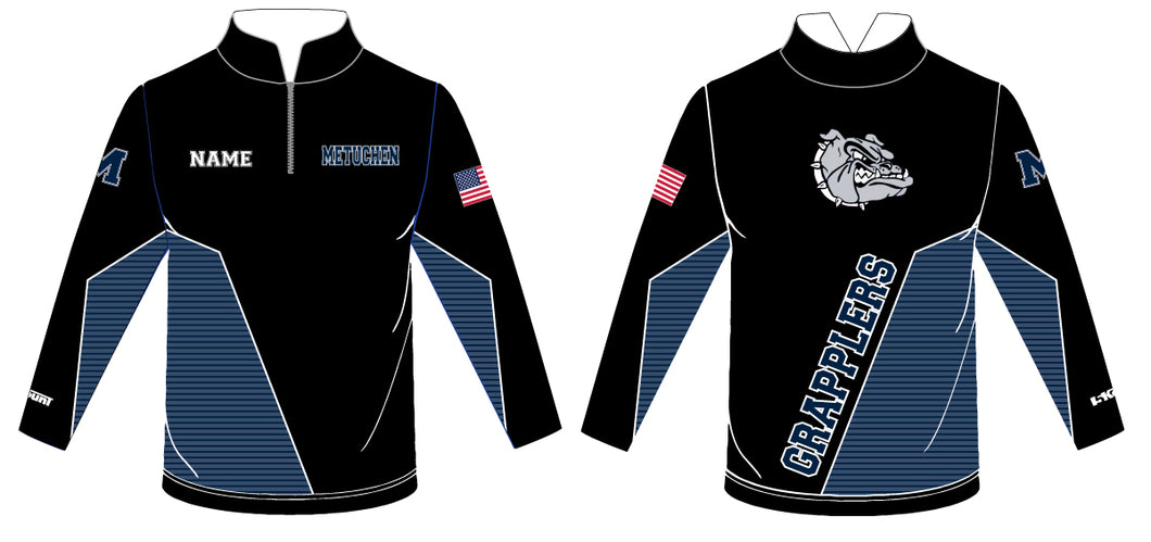 Metuchen Sublimated Quarter Zip - 5KounT2018