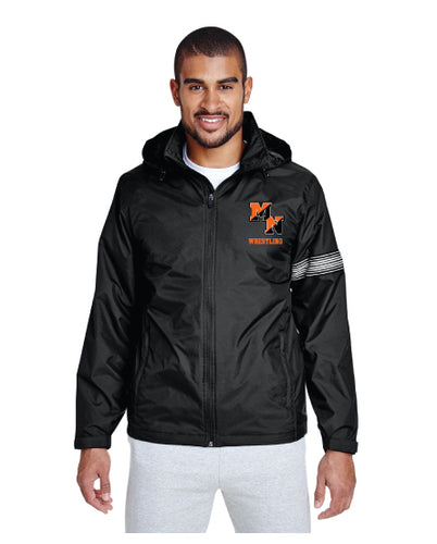 Midd North Lions All Season Hooded Jacket - Black