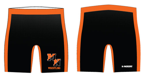Midd North Lions Sublimated Compression Shorts