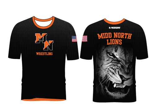 Midd North Lions Sublimated Fight Shirt