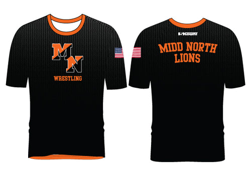 Midd North Lions Sublimated Fight Shirt (no lion)