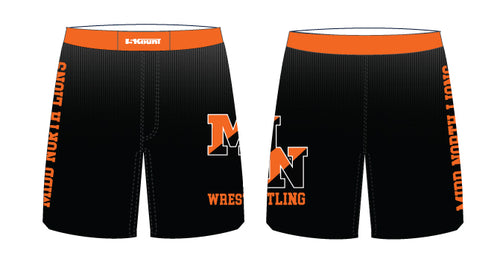 Midd North Lions Sublimated Fight Shorts