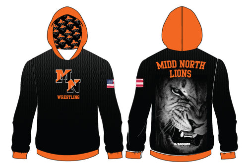 Midd North Lions Sublimated Hoodie