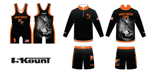 Midd North Lions Wrestling Bundle