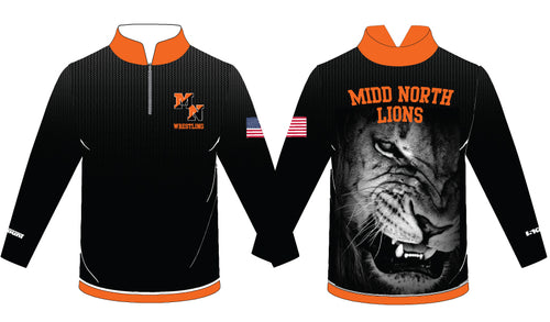 Midd North Lions Sublimated Quarter Zip