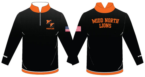 Midd North Lions Sublimated Quarter Zip (no lion)