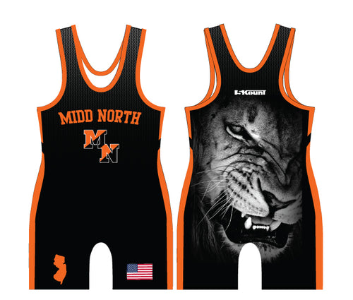 Midd North Lions Sublimated Singlet