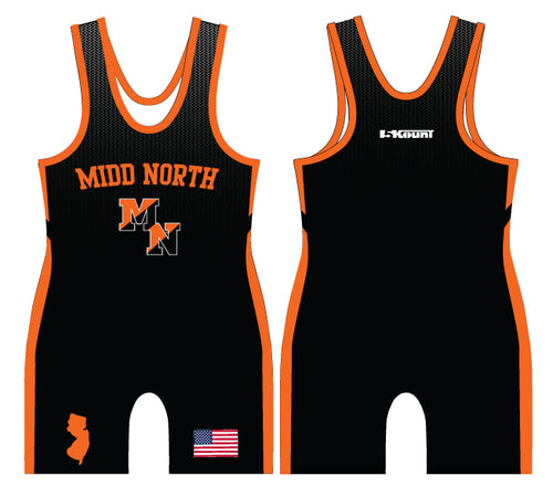 Midd North Lions Sublimated Singlet (no lion)