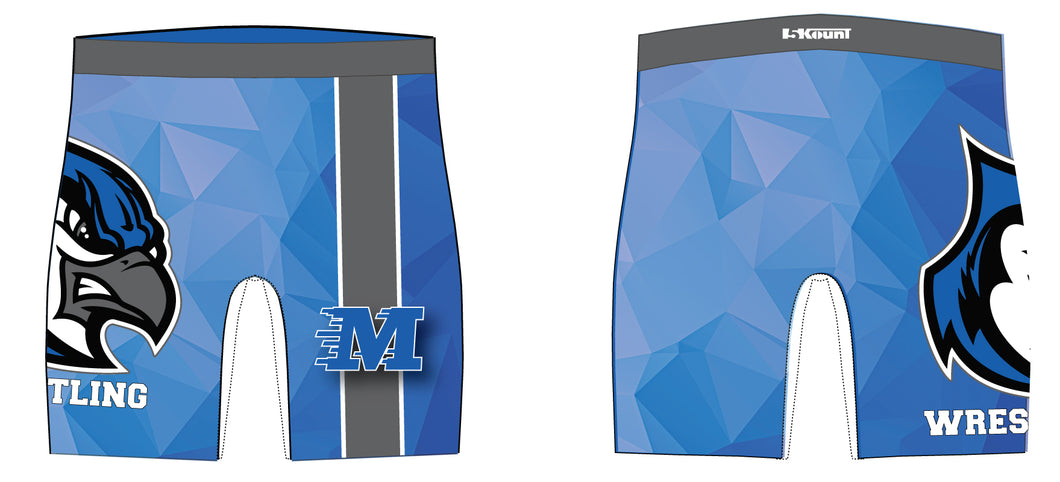Middlesex Wrestling Sublimated Compression Shorts - 5KounT2018