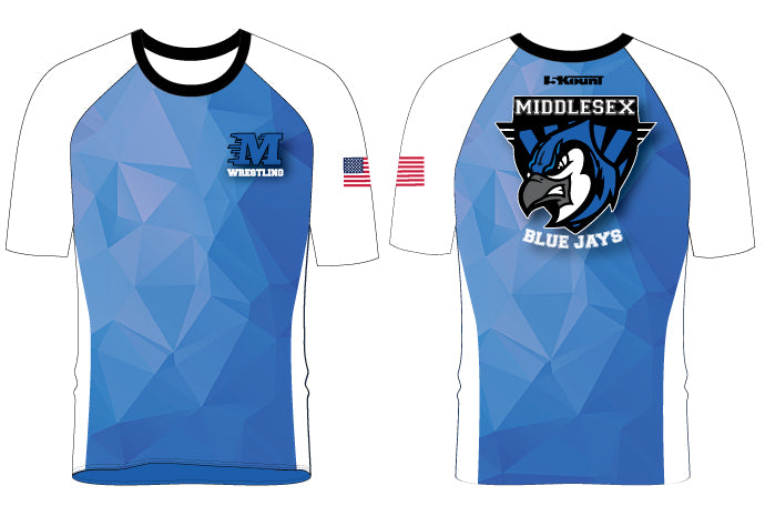 Middlesex Wrestling Sublimated Fight Shirt - 5KounT