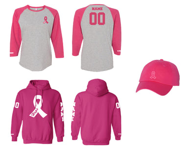 Breast Cancer Awareness Football Mom Package