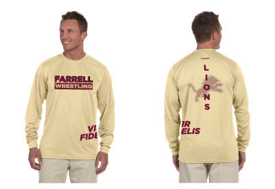 Farrell Wrestling Long Sleeve Performance Tee