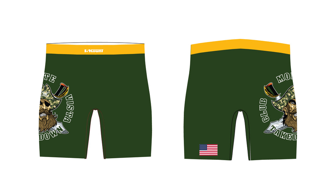 Monte Vista Takedown Club Wrestling Sublimated Compression Shorts