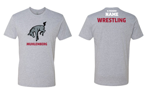Muhlenberg University Cotton Crew Tee - Grey