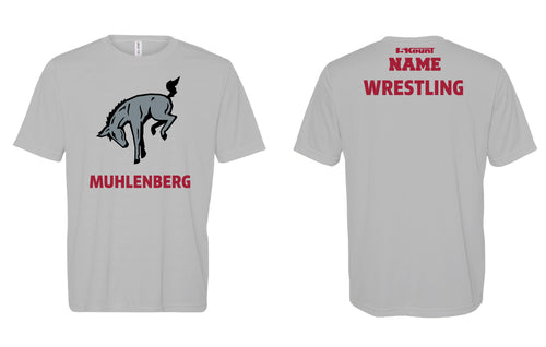 Muhlenberg University DryFit Performance Tee - Grey