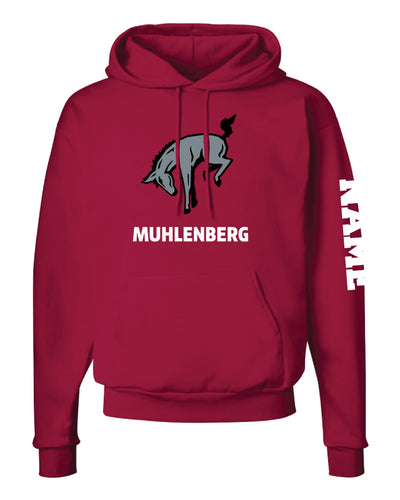 Muhlenberg University Cotton Hoodie - Cardinal