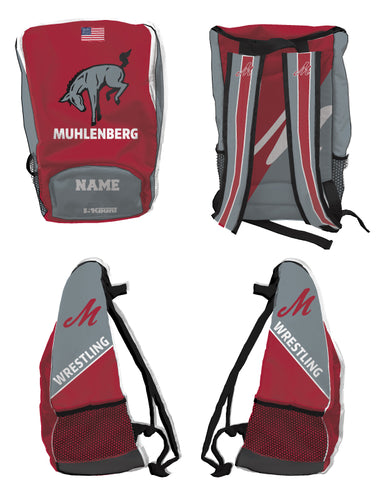 Muhlenberg University Sublimated Backpack