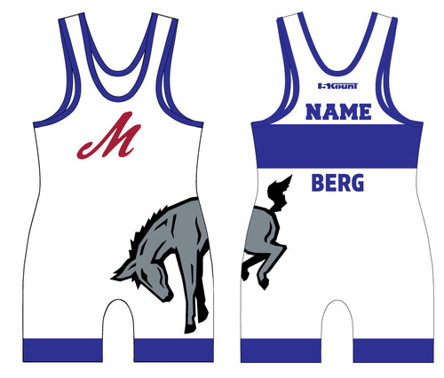 Muhlenberg University Sublimated Singlet - Blue