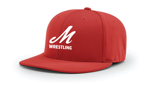 Muhlenberg University FlexFit Cap - red