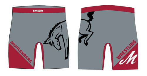 Muhlenberg University Sublimated Compression Shorts