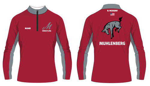 Muhlenberg University Sublimated Quarter Zip