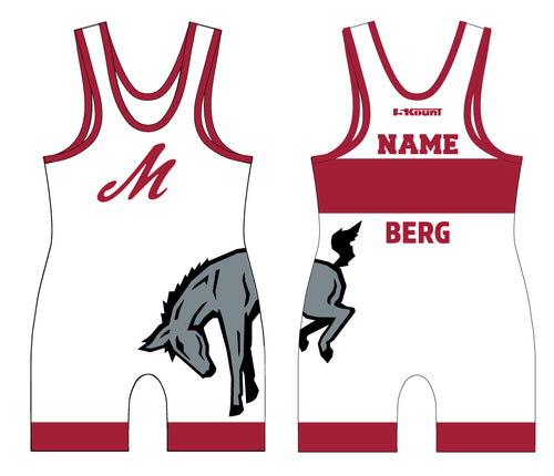 Muhlenberg University Sublimated Singlet - Red