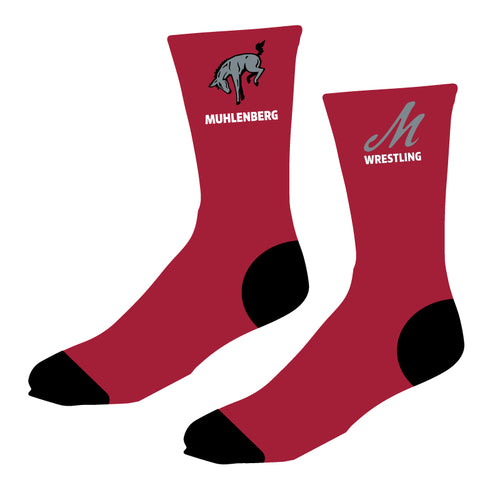 Muhlenberg University Sublimated Socks