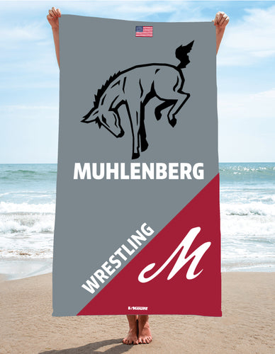 Muhlenberg University Sublimated Beach Towel
