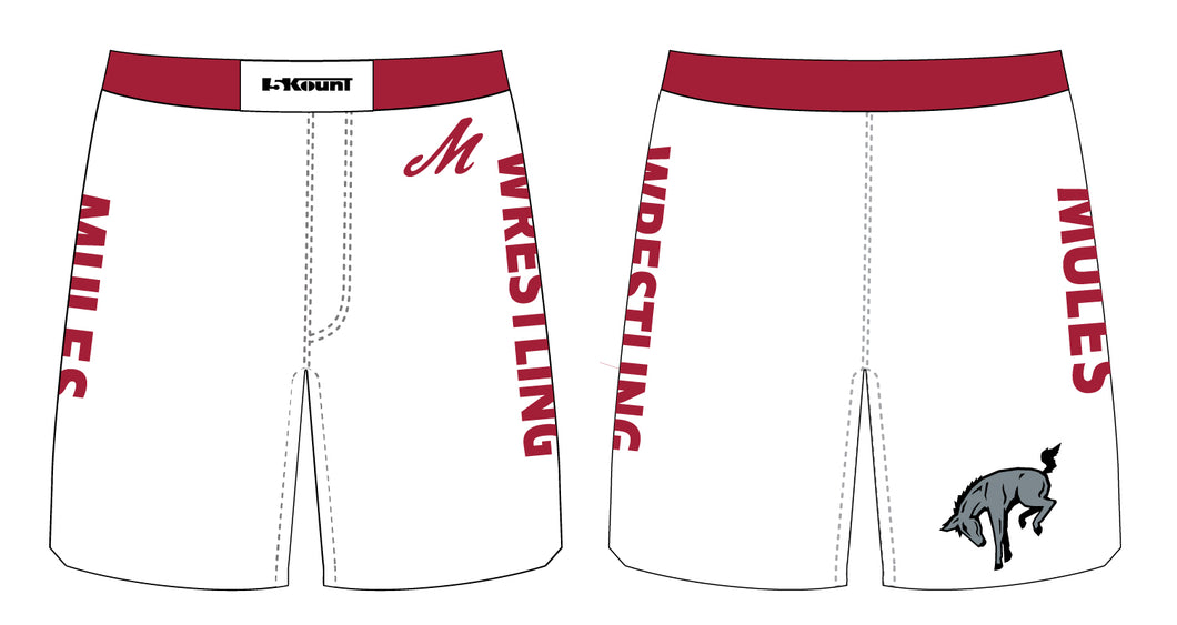 Muhlenberg University Sublimated Fight Shorts