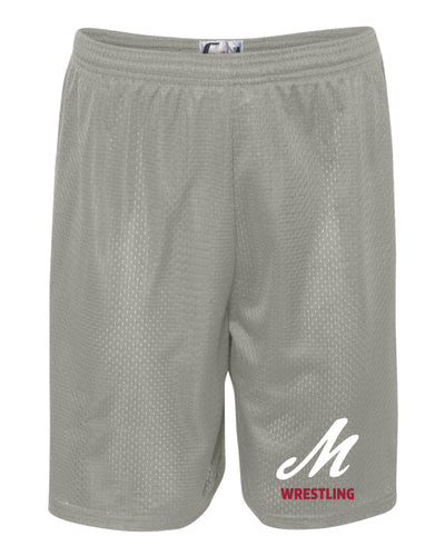 Muhlenberg University Tech Shorts - SIlver