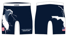 North Brevard Wrestling Association Sublimated Compression Shorts - 5KounT