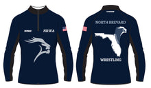 North Brevard Wrestling Association Sublimated Quarter Zip - 5KounT
